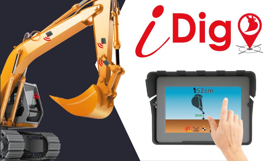 iDig Display Screen
